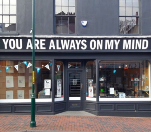 Ideas Test at No. 34 – taking over a High Street shop to increase engagement