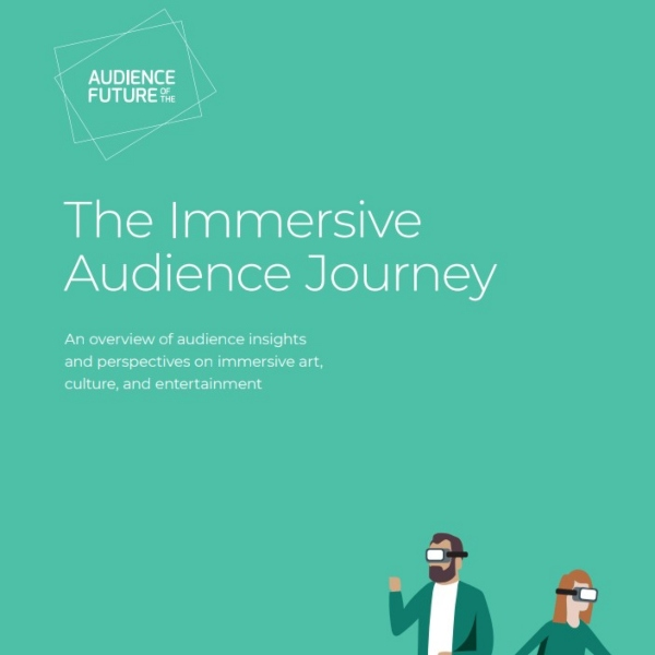 Front cover includes two illustrations of people wearing VR googles