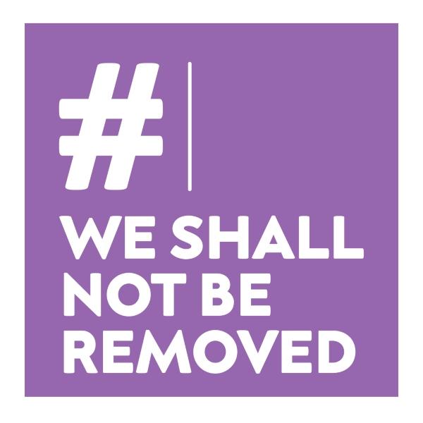 WeShallNotBeRemoved logo